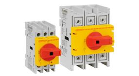 Switch disconnector GA...A RY type with yellow/red direct operating handle